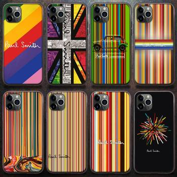 Luxury Brand Pauls Smiths Phone Case for iPhone 8 7 6 6S Plus X 5S SE 2020 XR 11 12 Pro mini pro XS MAX image