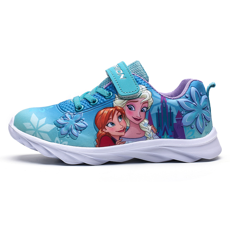 2020 Spring New Children Shoes Girls Sneakers Princess Kids Shoes Fashion Casual Sport Running Leather Child Shoes For Girls 619