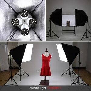 Image 5 - Photo Studioสี่เหลี่ยมผืนผ้าการถ่ายภาพกล่อง 8 LED 20Wแสงการถ่ายภาพชุด 2 2 กล่องนุ่มพกพากระเป๋าสำหรับกล้อง