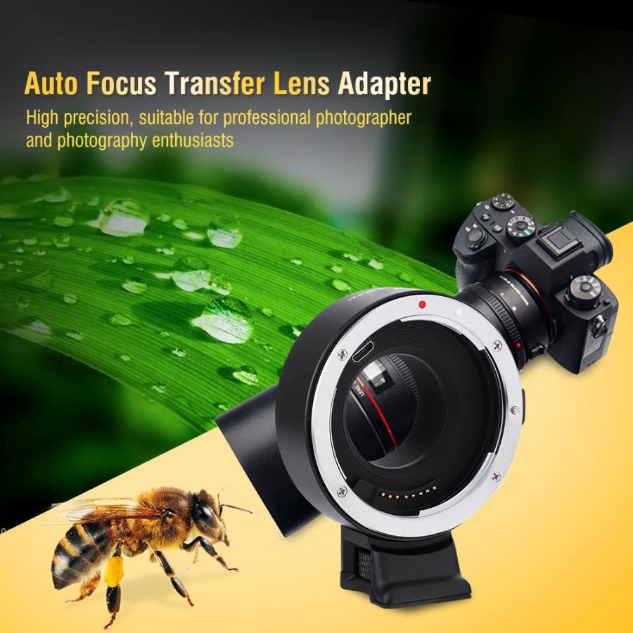 VILTROX EF FX1 Auto Focusing Lens Adapter for Canon EF EF S Lenses for Fuji X Mount Camera Focusing Lens Adapter New in Lens Adapter from Consumer Electronics