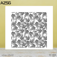 ZhuoAng A pile of leaves Clear Stamps For DIY Scrapbooking/Card Making Decorative Silicon Stamp Crafts