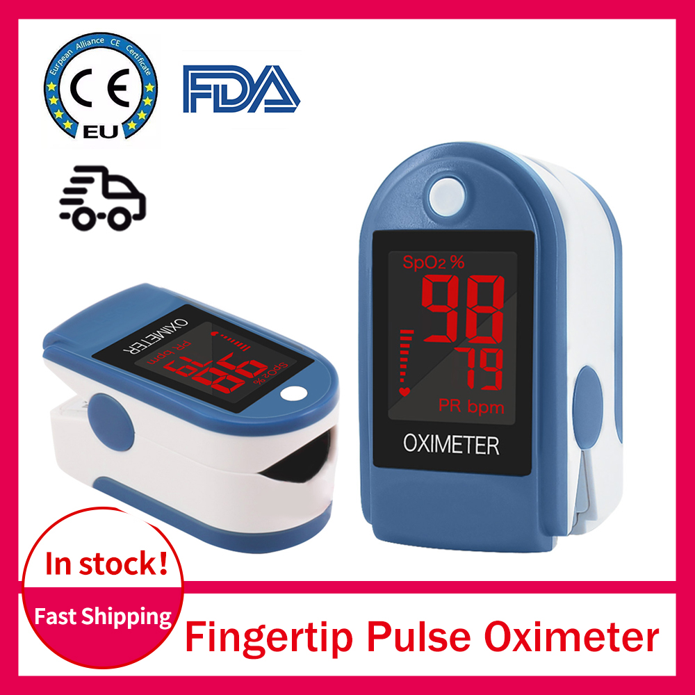 Fingertip Pulse Oximeter Finger Mini SpO2 Oxygen Saturation Monitor Finger Oximetry Oxygenmeter Safe Accu Ce Blood Gluco Monitor