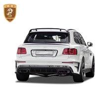 Real Carbon Fiber with Fiberglass Bodykit for BENTLEY BENTAYGA Change M Style Luxury Car Modification CSSCAR custom Auto Parts