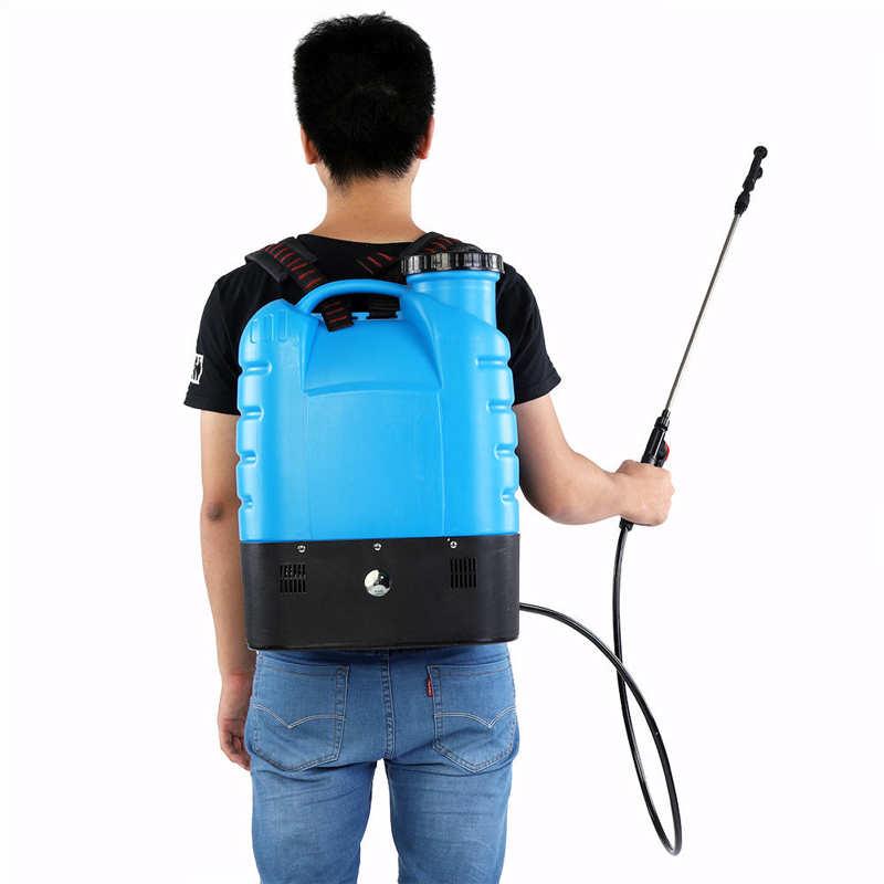 16L Electric Backpack Type Agricultural High Pressure Sprayer Gardening Tool 110V US Plug Paint Gun Garden Supplies-0