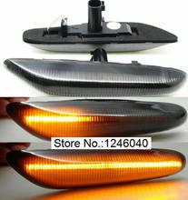 مصباح علامة جانبي LED ديناميكي ، مكرر إشارة الانعطاف ، مصباح مؤشر لسيارات BMW 1/3/5 SER E60 E61 E81 E87 E88 E90 E92 E93