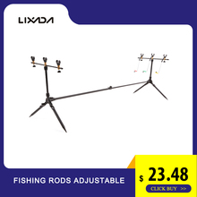 Lixada Fishing Rods Adjustable Retractable Carp Pod Stand Holder Pole Tackle Accessory Bracket for Pesca