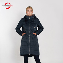 MODERN NEW SAGA 2019 New Autumn Collection Coats And Jackets Women Oversized Parkas Cotton Padded Overcoat Female Ladies Outwear