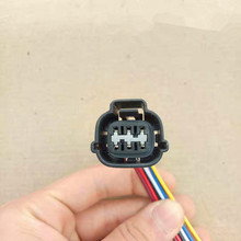 1/5/10pcs/lot 6 Pin/Way Throttle Idle Motor Plug Connector With Wire Harness Pigtail For Mitsubishi PB535 06027