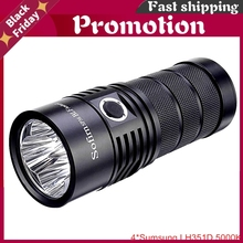Sp36 Blf Anduril 4*Samsung Lh351d 5650lm Powerful Led Flashlight Usb Rechargeable 18650 Torch 5000k High 90 Cri