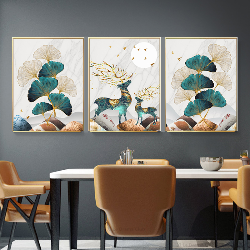 Golden-Leaf-Poster-Abstract-Canvas-Painting-Modern-Wall-Art-Print-Decorative-Picture-Nordic-Style-Li (8)