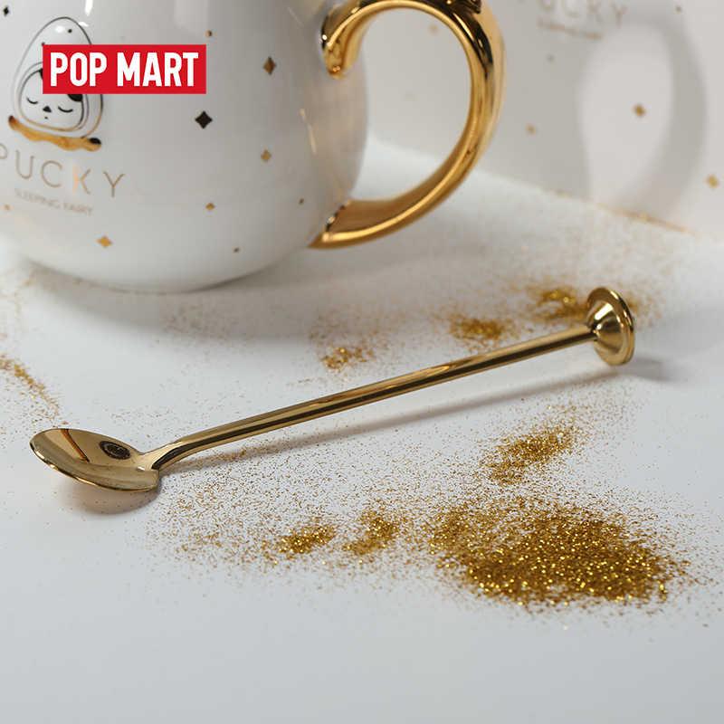 아름다운 선물로 잠자는 아기의 POPMART Pucky 세라믹 컵 무료 배송