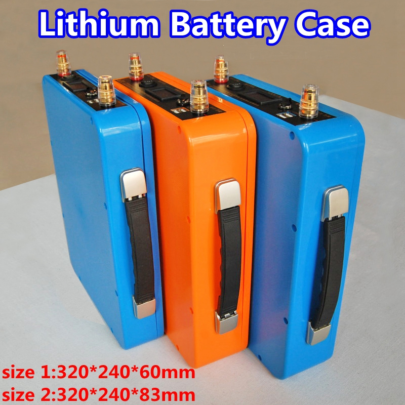 Fireproof and waterproof lithium battery protection case for 12V 100ah 80ah 60ah 50ah Lifepo4 Li ion battery pack