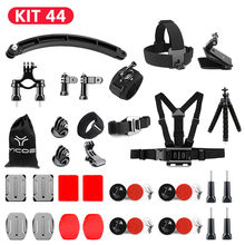 for Go Pro Hero 8 7 6 5 4 3 Xiaomi yi mijia 4k Accessories Kit SJCAM SJ7 4k GoPro Case Tripod Stick Mount Monopod Action Camera(China)