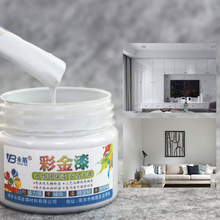 Gray Gold Paint Oil Metal Wood Bright Lacquer Any Material Suitable, Waterproof Mildewproof Water-based Non-toxic 100g