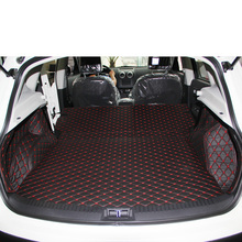 цена на Lsrtw2017 Leather Car Trunk Mat Cargo Liner for Nissan Qashqai 2006 2007 2008 2009 2010 2012 2013 Nissan Dualis Rug Carpet
