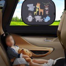 2 sztuk dziecko zasłona okienna projekt samochodu odcienie Anime okno samochodu zasłona okienna s dla z tyłu i boczna szyba samochodu osłona termiczna ochrony