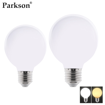 цена на Milky LED Light Bulb AC 110V 220V E27 G80 G95 G125 Lampada Bombilla LED Lamp Bulb Home Decor Cold White Warm White Table Lamp