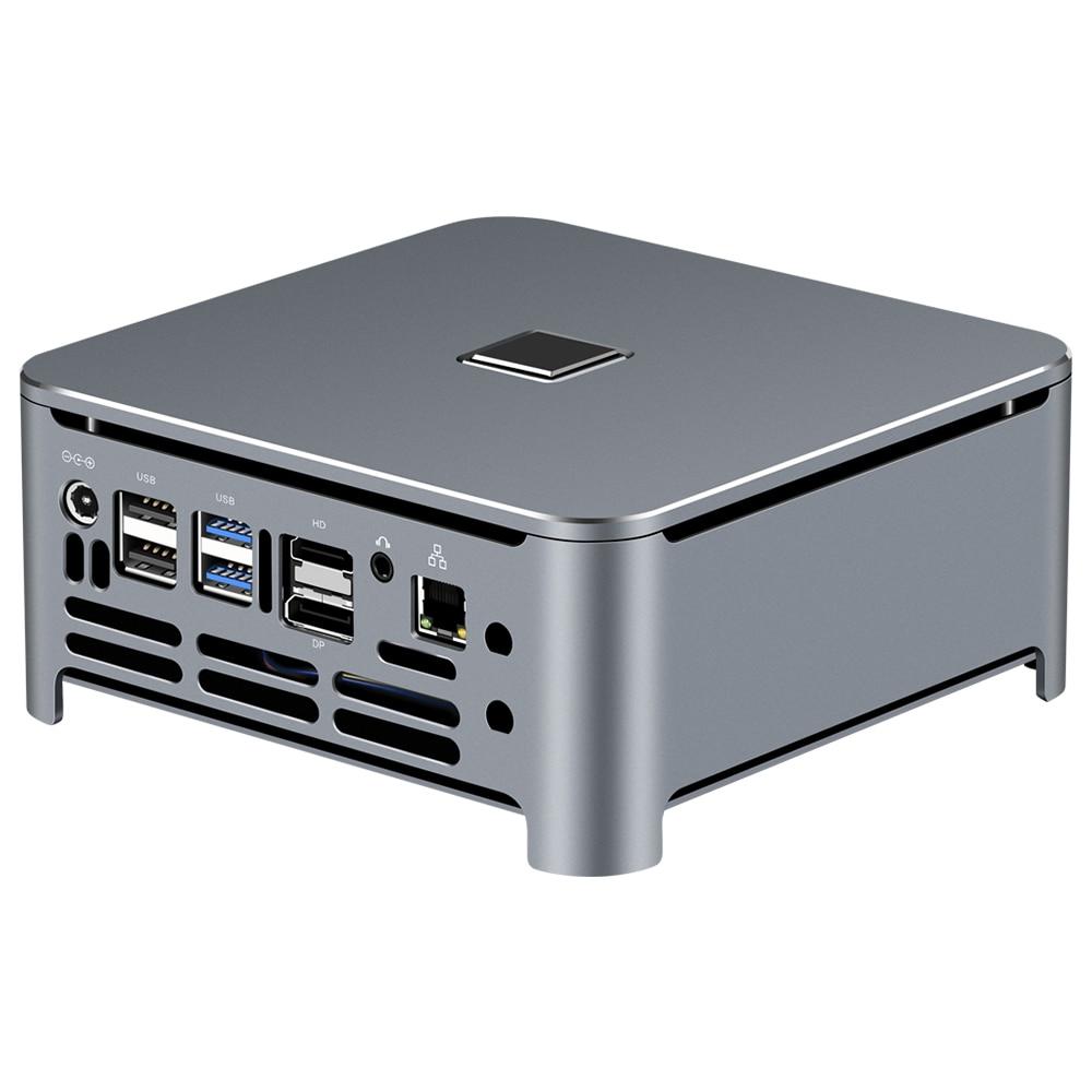 Mini PC i9 i7 i5 8300H 6 fils, Top jeu Mini PC 2 * DDR4 M.2 Nuc ordinateur de bureau Win10 Pro