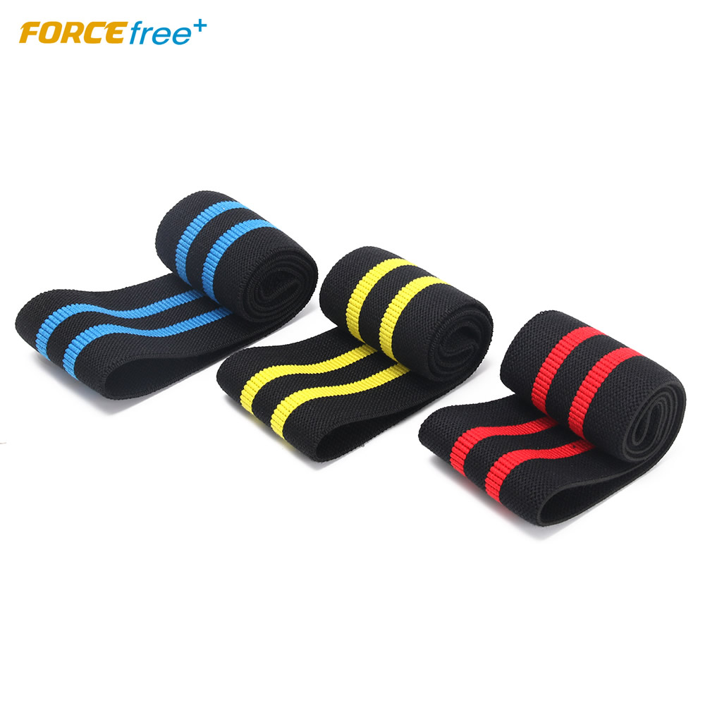 Forcefree+ 3PCS Hip Band Set Fitness Resistance Loop Bands Durable Comfortable Polyester Cotton For Yoga Gym Workout