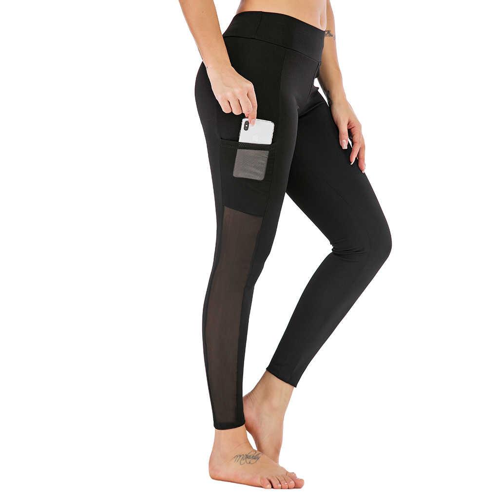 เซ็กซี่แขนกุดไม่มีรอยต่อโยคะชุดผู้หญิง GYM Leggings กีฬา Bra Push Up ออกกำลังกาย 2 Pcs ชุดกีฬาฟิตเนสเสื้อผ้า