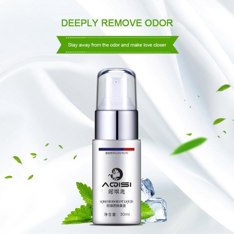 Remover Antiperspirant 30Ml Underarm Antiperspirant Spray Summer Body Odor Cleansing Liquid Deodorant Spray For Men Women TSLM2