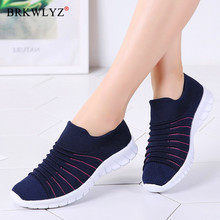 BRKWLYZ Sneakers Women Flats Shoes Summe