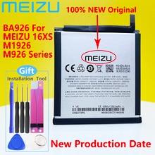 Novo original meizu ba926 bateria para meizu 16xs bateria m1926/m926h/m926q m926 série do telefone móvel + ferramentas de presente