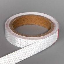 Светоотражающая лента, самоклеящаяся, 2,0 см х 8м