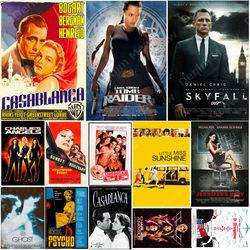 Affiche de Film en métal, panneau en étain, décor mural de cinéma, peinture en métal, Plaque d'art de Film classique, cadeau pour les Fans de Film N342