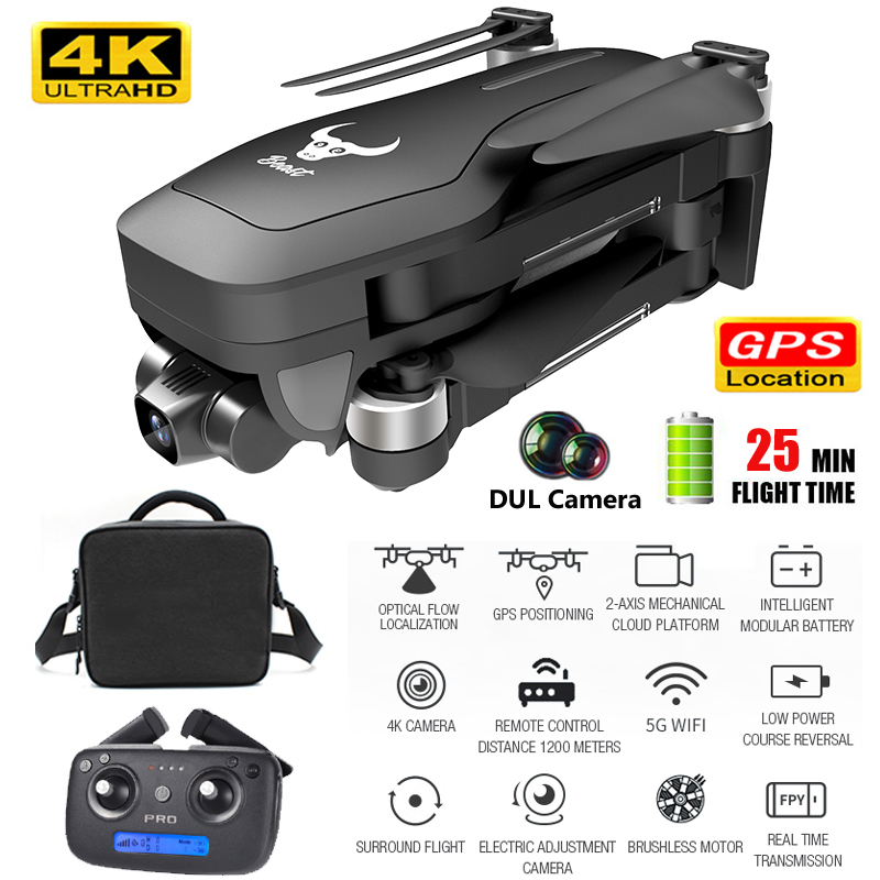 SG906 Pro Gps Drone 4K HD Helicoptero Altitude Hold 5G WiFi Dual Two-axis Anti-shake Camera Selife FPV Dron Rc Quadcopter