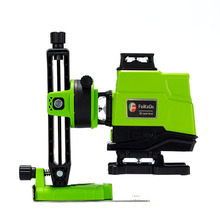 2pcs 5000MAH Battery German 520NM Laser Level 16 lines green line 4D Self Leveling 360 Horizontal And Vertical Super Powerful