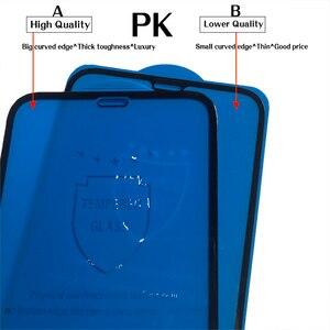 Image 2 - กระจกนิรภัยสำหรับ iPhone XS MAX XR X 8 7 8P 6 6S PLUS 11 Pro ป้องกันหน้าจอหรูหราฟิล์มแก้ว 10D โค้ง 10 ชิ้น/ล็อต