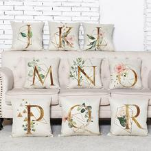 Free shipping new home decoration English letters coreless pillowcase cushion 45cm
