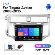 HD1280 * 720 Android 8.1 Radio z ekranem dotykowym jednostem nawigacji GPS dla Toyota Avalon 2008-2015 odtwarzacz Autoradio odbiornik