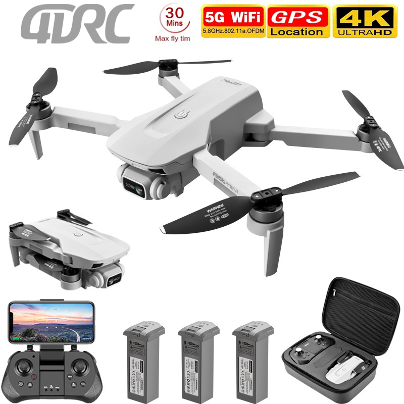 4drc f8 gps zangão 5g hd 4k câmera profissional 2000m transmissão de imagem motor sem escova dobrável quadcopter rc dron presente