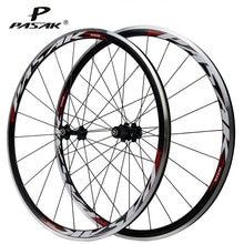 Pasak aro de bicicleta de estrada, rodas de 700c, 20h, 24h, selado, hub, ultraleve, liga de alumínio, aro duplo clincher roda de bicicleta