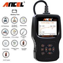 Ancel ad530 obd2 odb scanner automotivo testador de bateria completa obd2 ferramenta diagnóstico do motor carro leitor código obd 2 ferramenta verificação