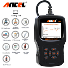 Ancel AD530 OBD2 ODB 자동차 스캐너 배터리 테스터 전체 OBD2 자동차 엔진 진단 도구 코드 리더 OBD 2 스캔 도구