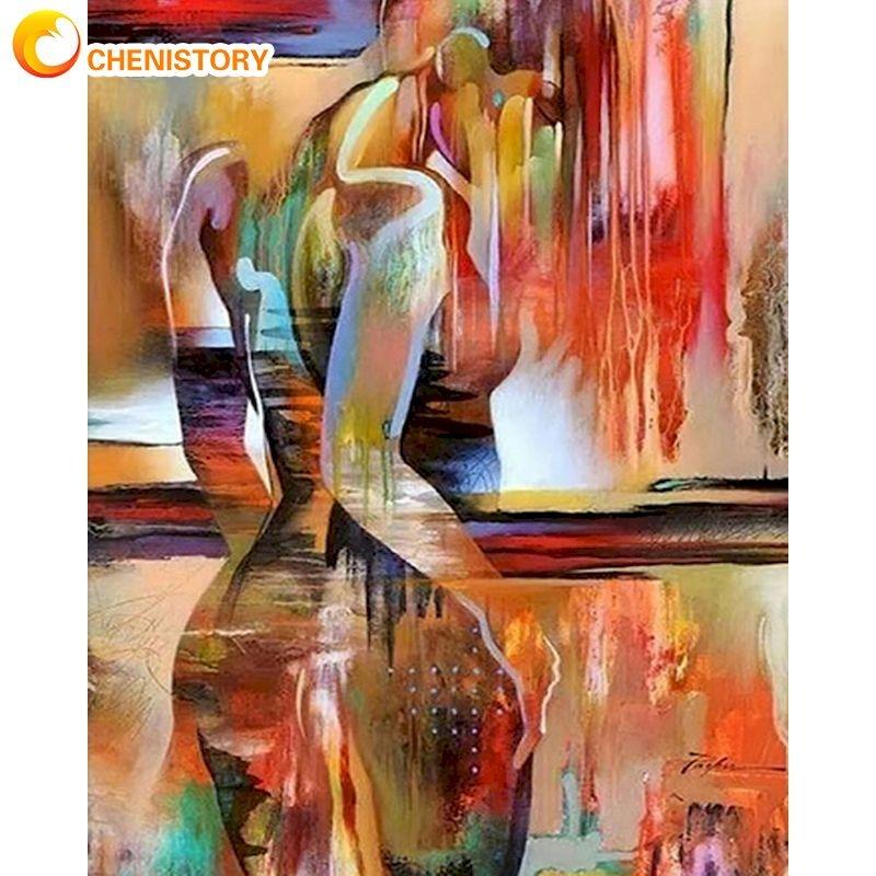 Купить chenistory красочный абстрактный женский набор для рисования