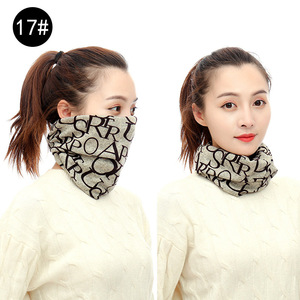 Image 4 - New Design Fashion Unisex Winter Autumn Warm Ring Bandana Scarf Knitting Men Headband Wome Face Mask Camouflage Multifunction