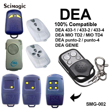 DEA433-1 433-2 433-4 MIO TD2 TD4 gate control garage door remote replacement DEA fixed code 433.92MHz - discount item  40% OFF Access Control
