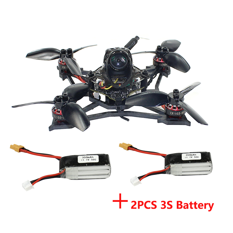 Happymodel Larva X 2-3S 2.5inch Brushless FPV Race Drone 100mm Crazybee F4 PRO V3.0 AIO Flight Controller Camera 25mw~200mw VTX