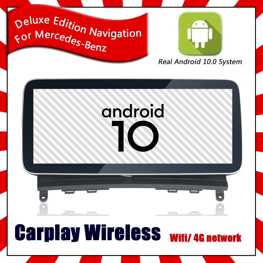 Wireless Carplay <font><b>Android</b></font> 10.0 Car GPS Navigation Multimedia For Benz V Class <font><b>W447</b></font> 2018 64GB ROM RADIO DSP 4G Network Head Unit image