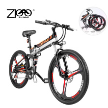 Electric-Bike ZPAO 26inch Magnesium-Alloy-Wheel Lithium-Battery 48V