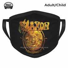 Music Rock – Saxon en métal, masque buccal, respirant, doux et chaud