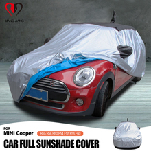 Full Car Cover Auto For Mini Cooper F60 F54 F55 F56 R60 R55 R56 Outdoor Sunshade UV Snow Waterproof Dust Protection R56 R60 F55