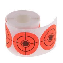 250 шт. бумага для мишени круглый клейкий рулон мишени Охотничьи Аксессуары для стрельбы из лука