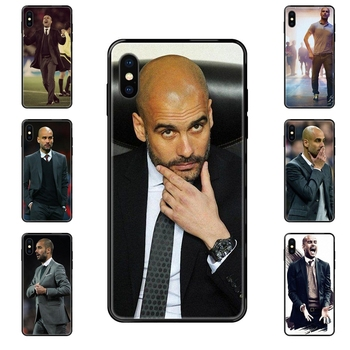 World Famous Pep Guardiola For Xiaomi Redmi 3S 4X 4A 5 5A 6 6A 7 7A 8 8A 8T 9 9A K20 K30 S2 Y2 Pro Plus Ultra TPU Black Soft image