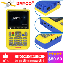 100% Original DMYCO V8 Digital TV SatFinder HD DVB-S2 High Definition Satellite Finder MPEG-2 MPEG-4 FTA Satellite Finder Meter