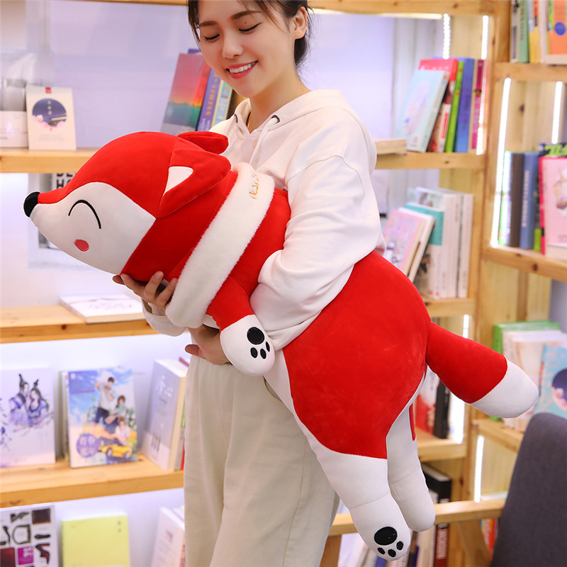 35-90CM Kawaii Dolls Stuffed Animals Plush Toys For Girls Children Boys Toys Plush Pillow Fox Stuffed Animals Soft Toy Doll
